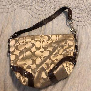 Small hand purse coach
